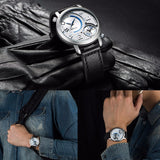 Dual display Blue Envy Watch - Slim Wallet Company