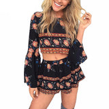 Backless Two Piece Romper - Slim Wallet Company