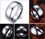 Classic Men Tungsten Ring - Slim Wallet Company