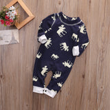 Don't Moose With Me Baby Romper - Slim Wallet Company