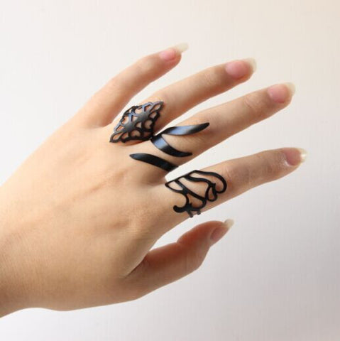 3Pcs Bohemian Ring Set