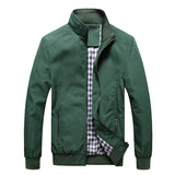 Slim Fit Gingham Lined - Men's Jacket - Slim Wallet Company