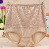 Lace Floral Tummy Control Shaping Panties - Slim Wallet Company