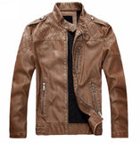 Men's Slim Fit Lambskin Leather Jacket - Slim Wallet Company