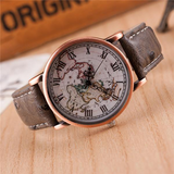 World Map Wrist watch