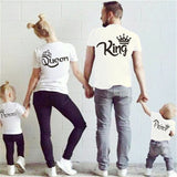King - Queen - Prince - Princess  Mommy Daddy Baby Outfit