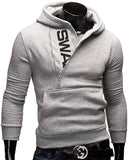 Men's Slim Fit Hoodie - Justice - Slim Wallet Company