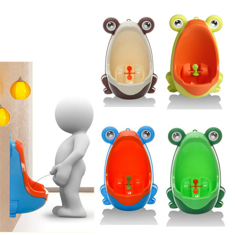 Cute Animal Boy's Portable Potty Urinal - Slim Wallet Company