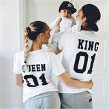 King - Queen - Prince - Princess  Mommy Daddy Baby Outfit - Slim Wallet Company