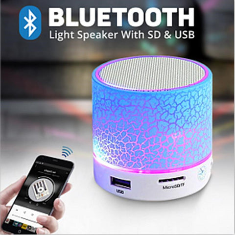 Funfriday Portable Mini Bluetooth Speakers