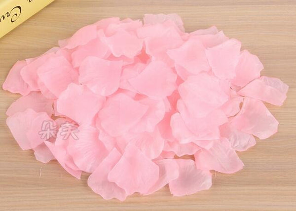 New 2015 free shipping Wholesale 1000pcs/lot Wedding Decorations Fashion Atificial Flowers Polyester Wedding Rose Petals patal
