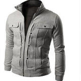 Slim Fit Military Jacket - Slim Wallet Company