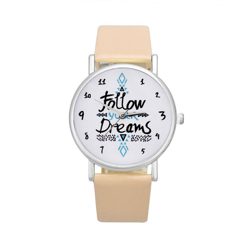 Follow Your Dreams Watch - Slim Wallet Company