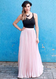 The Infinity Pleated Skirt