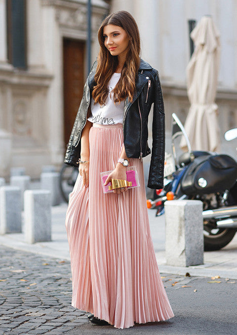 The Infinity Pleated Skirt Slim Wallet Company