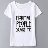 Normal People Scare Me - Slim Wallet Company