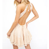 Backless Summer Beach Dress - Slim Wallet Company