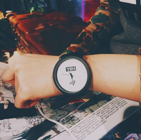 HBA Leather Strap Watch