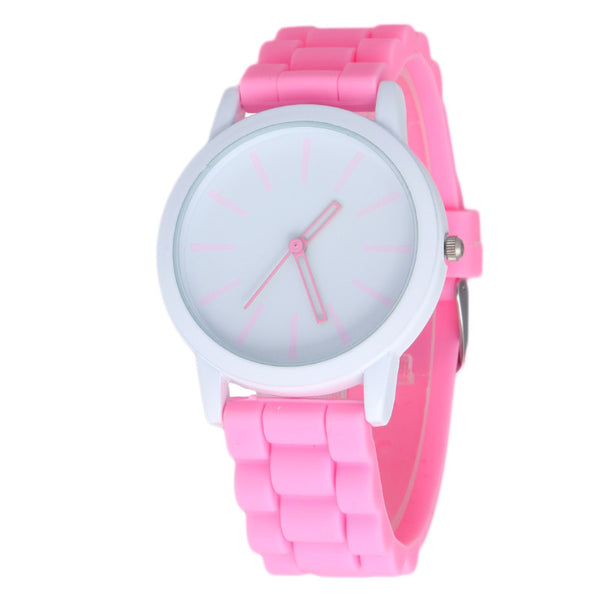 Silicone Jelly Watch