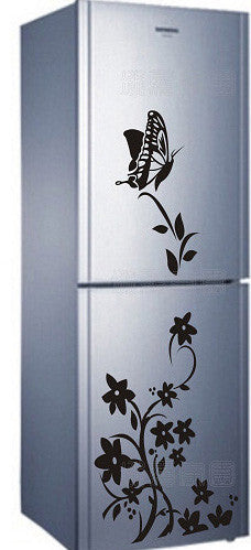 Free shipping high quality creative refrigerator sticker butterfly pattern wall stickers home decor - Slim Wallet Company