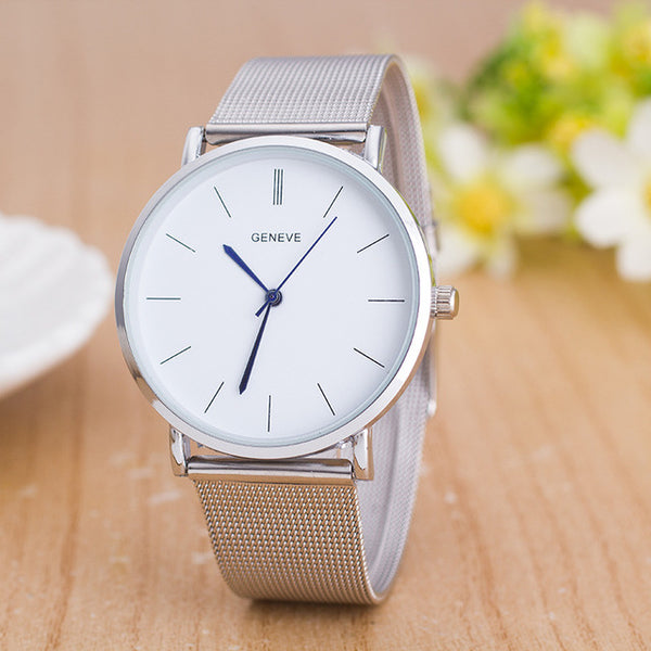 Stainless Steel Dress Watch - Slim Wallet Company