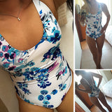 Shoe Lace Monokini Bathing Suit