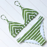 Stripes Bikini - Slim Wallet Company