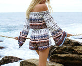 Bohemian Beach Top & Shorts - Slim Wallet Company