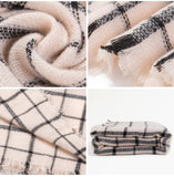 High quality plaid scarf women Thicken Soft Winter scarf Fashion Shawls and Scarves - Slim Wallet Company