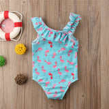 Mini Flamingo Swimsuit