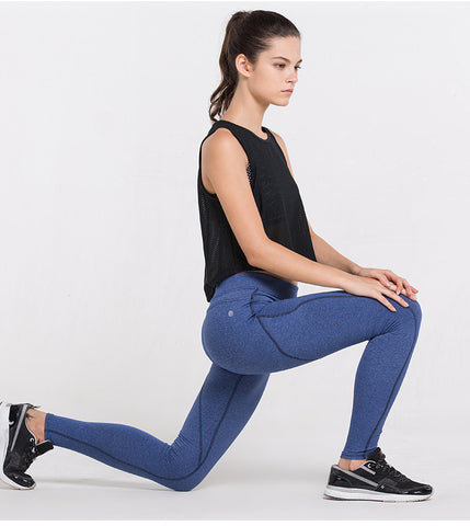 Solid Color Compression Leggings - Slim Wallet Company