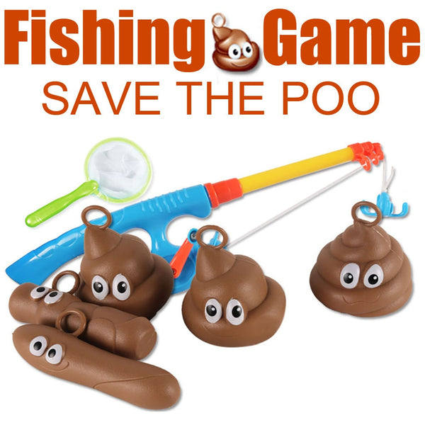 Save The Poo Game - Slim Wallet Company