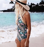 Flourishing Fiesta Swimsuit - Slim Wallet Company