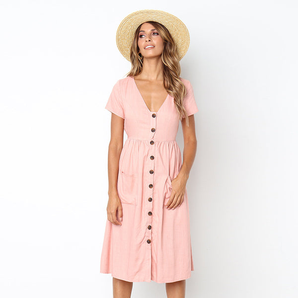 Strawberry Pie Dress - Slim Wallet Company