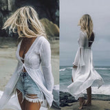 Beach Shore Cardigan - Slim Wallet Company
