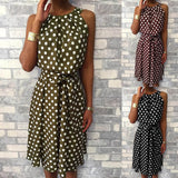 Polka Fun Dress - Slim Wallet Company