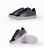 Glittery Sea Weed Sneakers - Slim Wallet Company