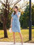 Blue Seal Dress - Slim Wallet Company