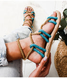 Summer Rope Sandals - Slim Wallet Company