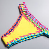 Candy Crush Crochet Bikini Set - Slim Wallet Company