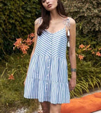Chill Stripes Dress - Slim Wallet Company