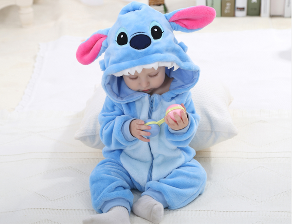 Baby Blues Romper - Slim Wallet Company