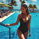 Multi Lace One Piece Monokini - Slim Wallet Company