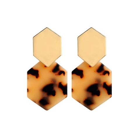 Safari Shell Earrings - Slim Wallet Company