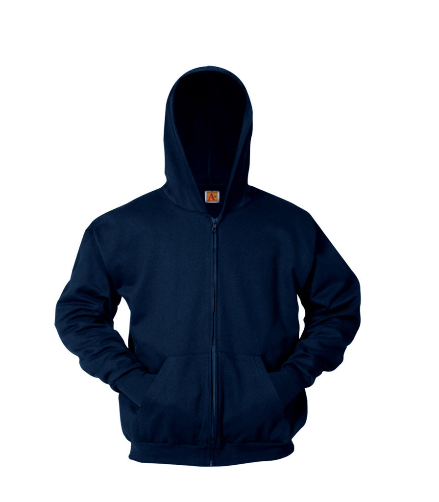 Full Zip front Sweatshirt