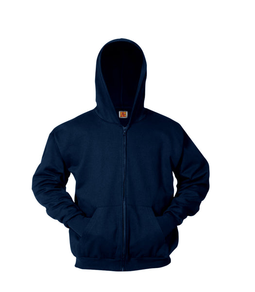 MB Zip Front Sweatshirt