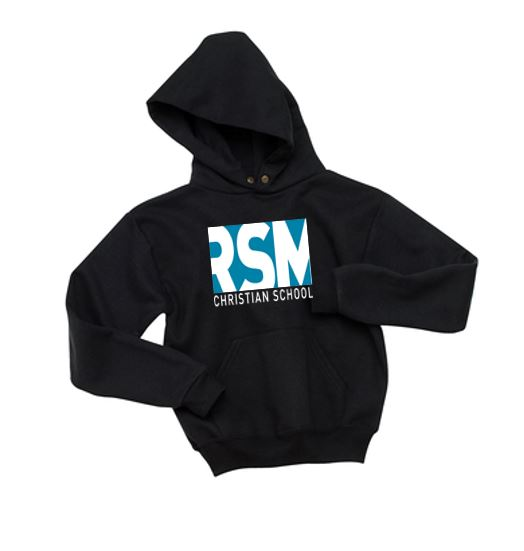 Black Hooded Sweatshirt RSMCS