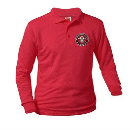 MBS Unisex Polo Shirt Long Sleeve