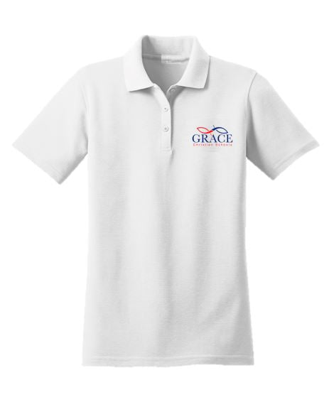 Grace Unisex Polo Shirt