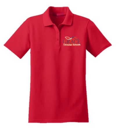 Grace Unisex Polo Shirt Middle School